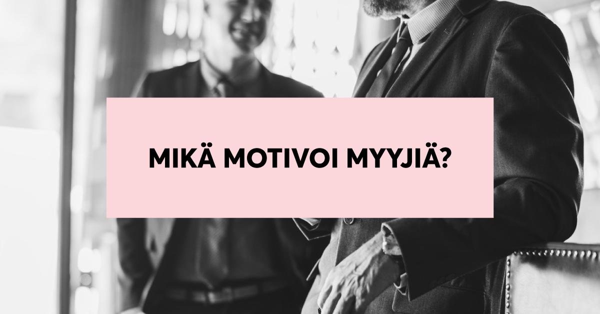 motivaatio-myynti