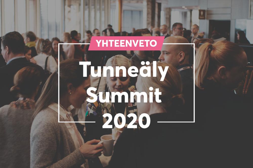 Tunneäly Summit 2020: Yhteenveto päivän teemoista